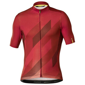 Mavic Cosmic Mosaic SS Jersey Men Red